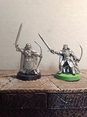 Lord Of The Rings Damrod And Faramir 2 Metal Figures Warhammer