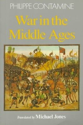 War in the Middle Ages by Phillippe Contamine Paperback Book (English)