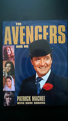 Signed Avengers And Me Patrick Macnee Book Autographed