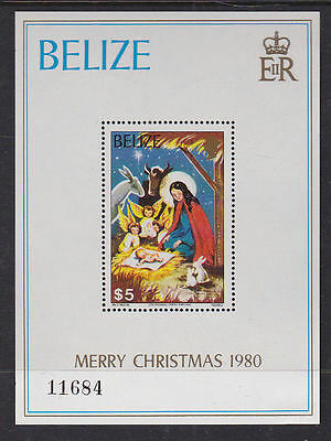 British Honduras Belize 1980 Used Mint MNH/MLH Full Set 2 Minisheets Christmas