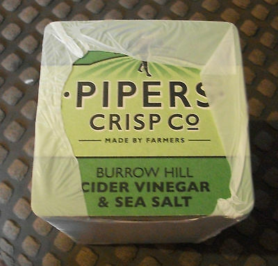 100 Brand New Pipers Crisps Beer Mats