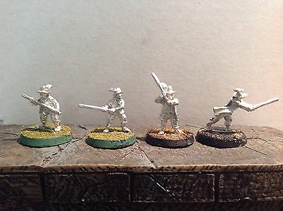 Lord Of The Rings Hobbit Sheriffs 4 Metal Figures
