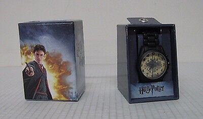 Accutime Harry Potter Marauders Metal Weaved Band Watch