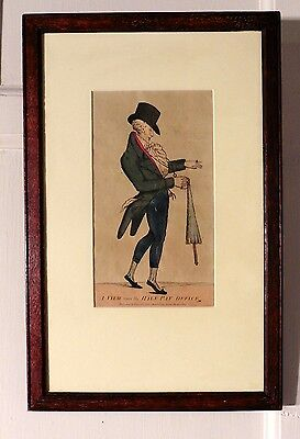 Collection of 3, 19th Century Humorous Coloured Prints