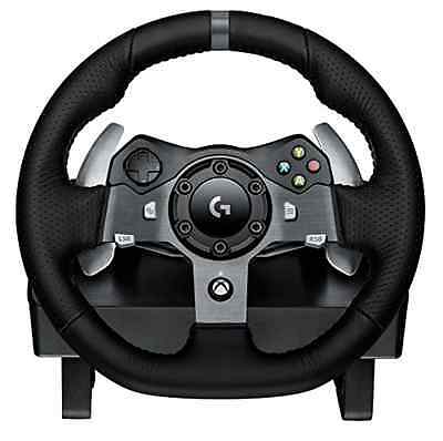new Xbox One pedal Logitech Driving Force G920 Racing Wheel Steering Wheel game