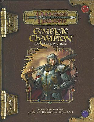 Dungeons & Dragons 3.5 Edition Complete Champion Guide to Divine Heroes