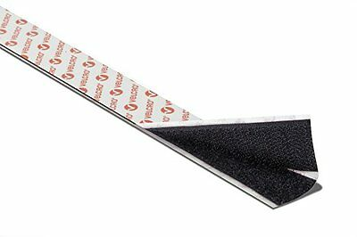 VELCRO® brand black PS14 Self Adhesive Sticky Backed Hook&Loop Tape 20 mm width