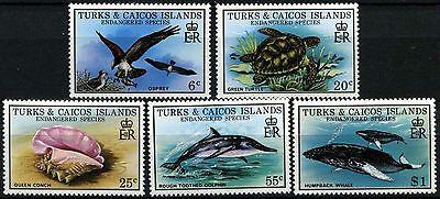 Turks & Caicos Is 1979 SG#534-8 Endangered Wildlife MNH Set #D42279