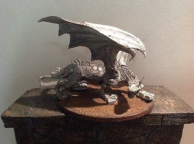 Lord Of The Rings Dragon Metal Figure Warhammer