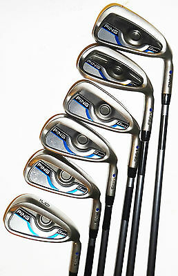 Ping G-Max Irons 5-Pw Cfs Reg Graphite Shafts Blue Spot Excellent Used