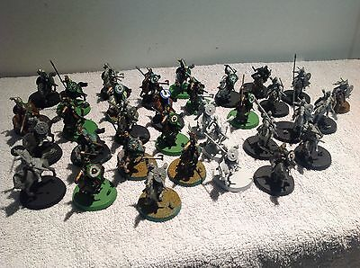 Lord Of The Rings Riders Of Rohan 33 Mounted Plastic Figures Warhammer