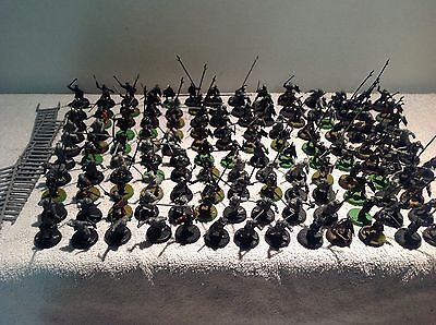 Lord Of The Rings Uruk Hai Army 140 Plastic Figures Warhammer
