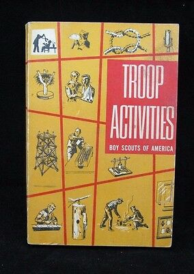 Boy Scout-Boy Scout Troop Activities 3/1968 edition for Leaders -282 pages