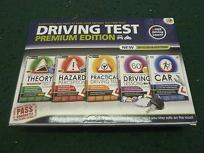 Complete Driving Theory Test Guide 2015/16 Premium Edition Dvd & Book Set