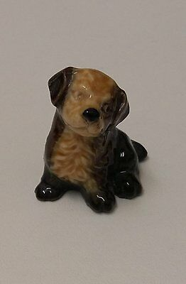 Cute Little Dog Wade Whimsy Ornament