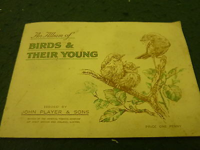Birds & Their Young Players Complete Cigarette Card Album
