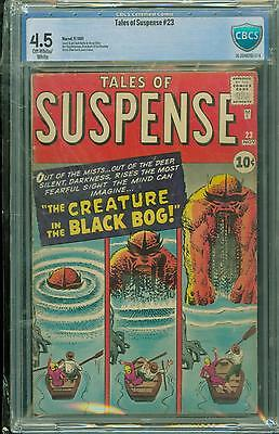 Tales Of Suspense #23 [1961] Certified[4.5] Classic Kirby/ditko Art
