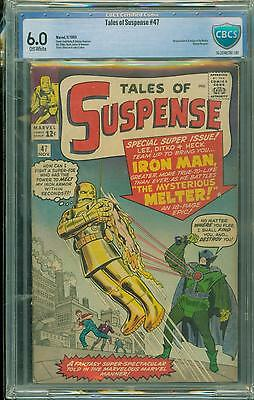 Tales Of Suspense #47 [1963] Certified[6.0] 1St Melter