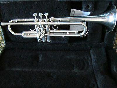 Schilke B1(Berylium bell) trumpet silver w/case and MP- very nice horn!! look!!!