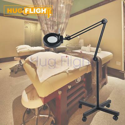 HOT SALE Stand Magnifier Lamp Light 5x Skincare Beauty Manicure Tattoo Salon Spa