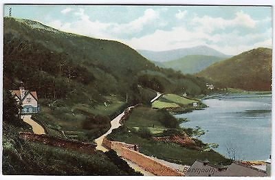 Postcard Dolgelly Road Barmouth Merionethshire Wales Unused