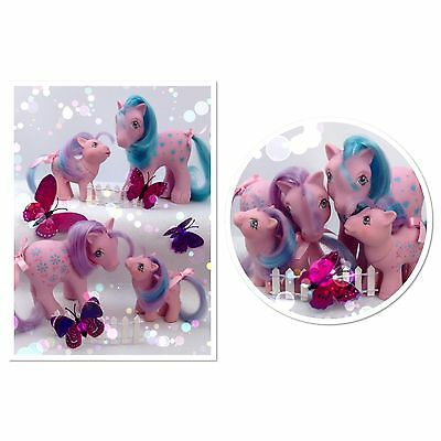 ⭐️ My Little Pony ⭐️ (MULTI LISTING) G1 Loving Families Bright Bouquet Family!