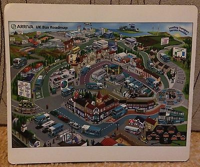 Arriva Busses Rare & Collectable Mouse Mat, Brand New.