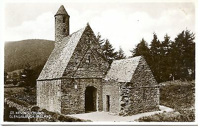 Postcard St. Kevins Church Glendalough Wicklow Ireland Unused RP