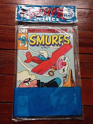 Smurfs #1 #2 #3 Marvel Comics Value Bagged package vintage