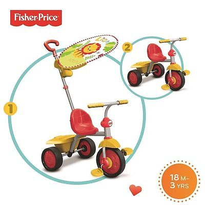 FISHER PRICE Smart Trike 2 in 1 Tricycle 18mth-3yrs old - New