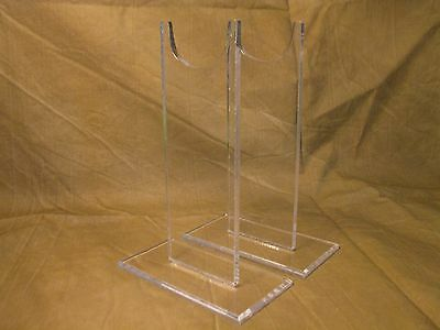 """Acrylic  7"""" Tall Antique Musket Rifle Carbine Shotgun Firearms Display Stand"""
