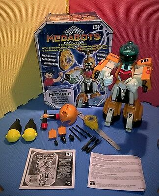 Medabots Super Electronic Metabee Hasbro 2002 Rare