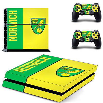 Norwich City Skin for PS4