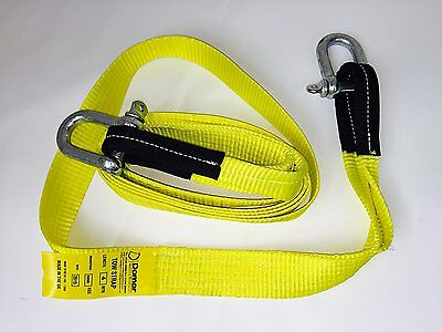 Tow Rope Strap 5ton Heavy Duty 4mtr with 2 shackles