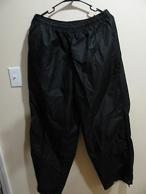 Nike Black Swoosh Pants Unisex Size XL New With Tags