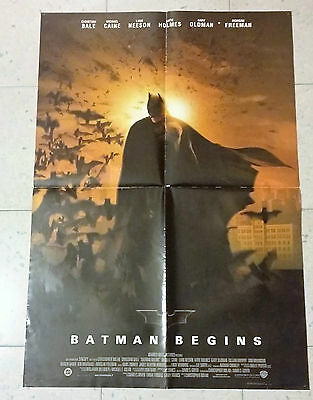Locandina Cinema Poster Batman Begins cm. 70x100
