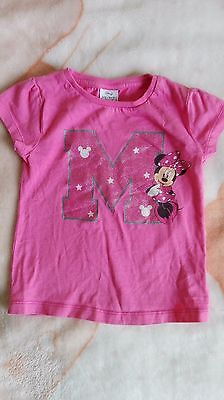 Girls Toddlers 2-3 years Disney Minnie Mouse sparkly T-shirt