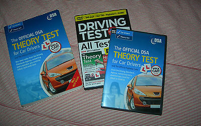 OFFICIAL DSA THEORY TEST for DRIVERS : BOOK + DVD:BOOK VALID till 2010