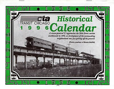 1996 Chicago Rapid Transit Authority Motor Coach Bus Streetcar Elevated Subway