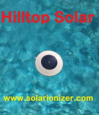 Solar Pool & Spa water Ionizer NS1 -Assemled, Tested in USA & Guaranteed to work