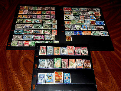 Ceylon stamps - BIG lot of 102 mint hinged & used stamps - earliest years !!
