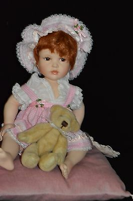 1998 Paradise Galleries Patricia Rose  Bed & Bath Time Babies  **kayla** No.951.