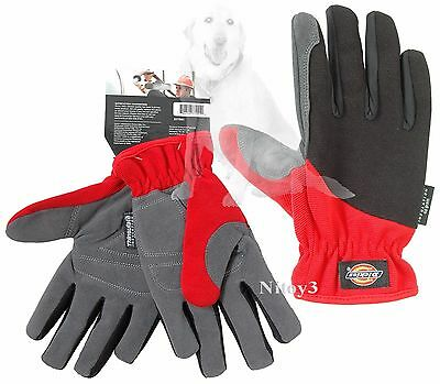 Dickies Tough Task Synthetic Leather Palm - Thinsulate® Gloves Unisex Large
