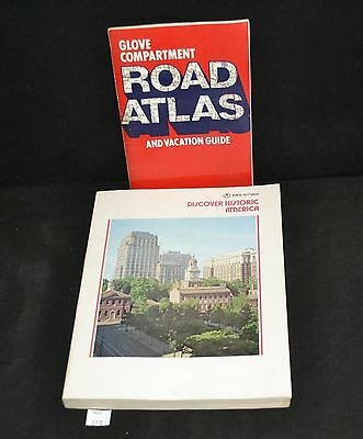 ThriftCHI ~ Rand McNally 1975 Discover Historic America Book & Road Atlas