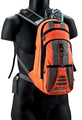 Oztrail Blue Tongue 2L Hydration Pack-Orange