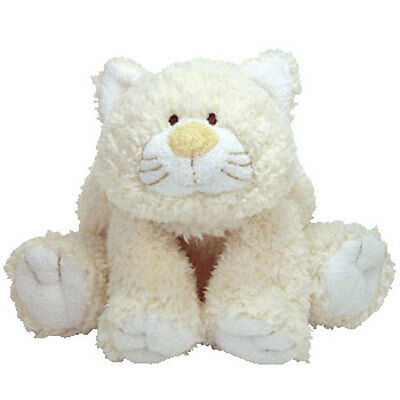 Baby TY - KUTIE KAT the Cat (8.5 inch) - MWMTs Stuffed Animal Toy