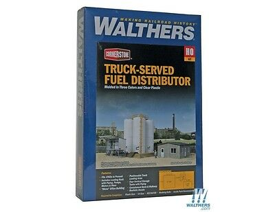Truck-Served Fuel Distributor HO Structure Kit - Walthers Cornerstone #933-4038