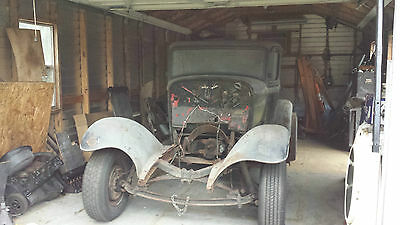 1932 Ford Other coupe 1932 Ford Real Henry Ford Steel Barn Find sold with NO RESERVE