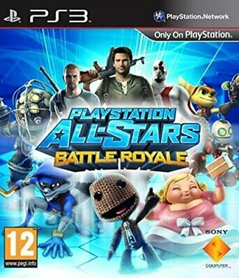 PlayStation All-Stars Battle Royale (PS3) - Game  H0VG The Cheap Fast Free Post