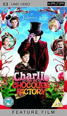 Charlie And The Chocolate Factory [UMD Mini for PSP] [2005] - DVD  VYVG The